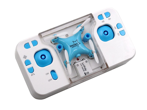 Mini Quadcopter with App blue